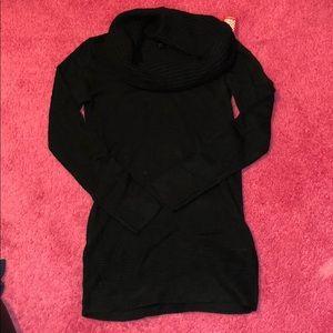 NWT black sweater dress